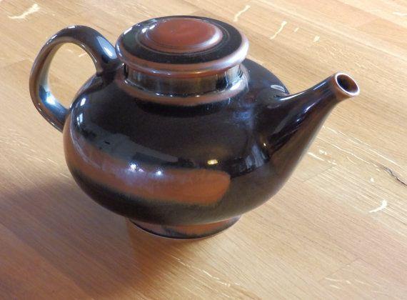 Viking Pattern teapot, a mid century modern design from Rörstrand of Sweden