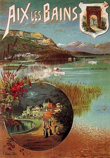Aix les Bains by Hugo d'Alesi (1905)