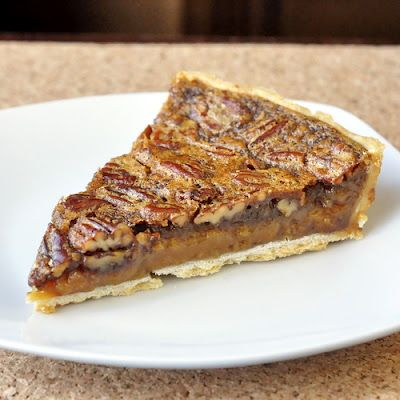This is my favorite pie. I've been making it for 30 years or more & although my love for this pie is well established, we have a very intermittent relationship because I simply cannot resist this one, so I don't make it all that often. It is one of those desserts that I covet and uncharacteristically do not willingly share. If it is in the fridge, it calls to me and I find myself making several trips , knife in hand, to steal small slivers all day. Little pieces don't count...right? ;)