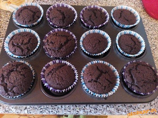 Čokoládové muffiny Brownies