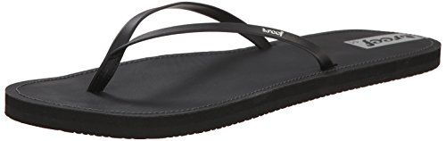 Reef Women's Reef Downtown Flip Flop, Black, 10 M US *** Want to know more, click on the image.