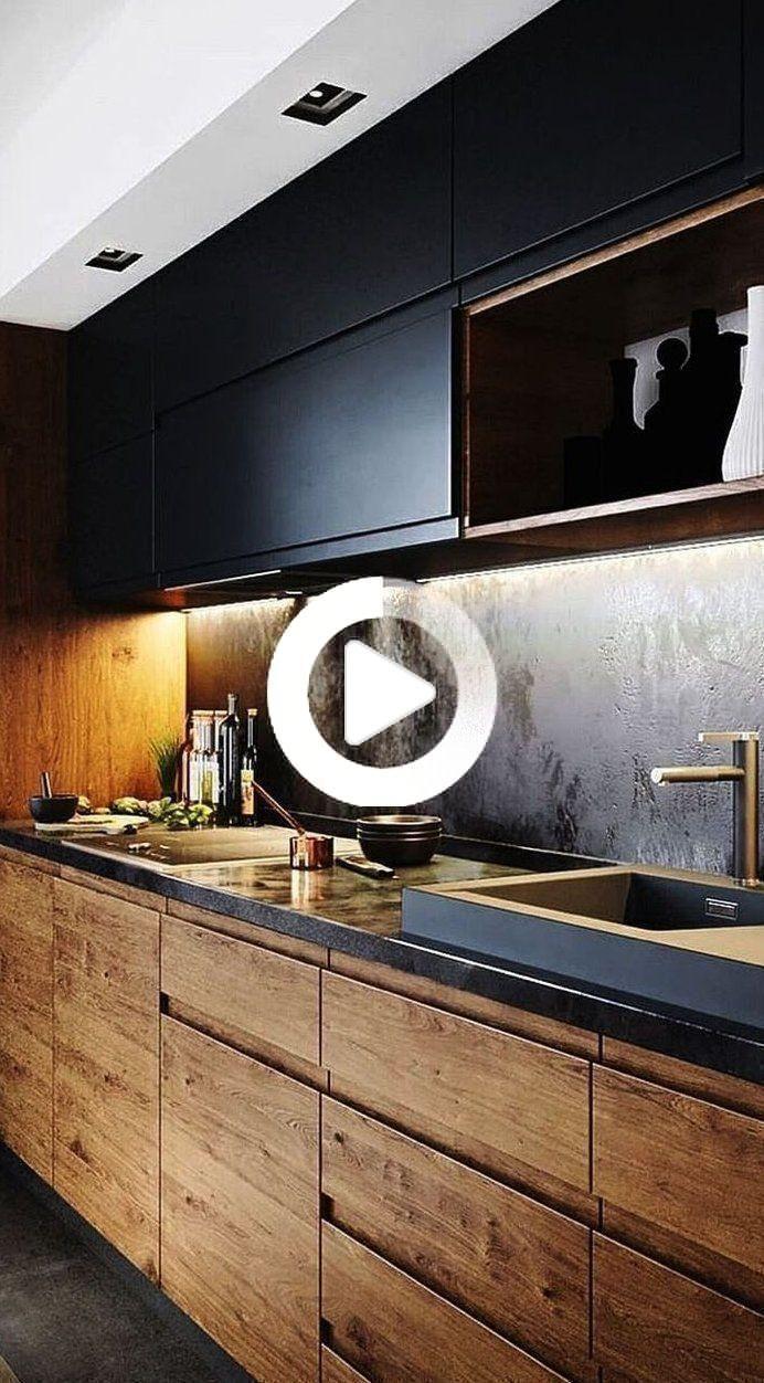 Pin on duda   Modern kitchen interiors, Modern kitchen furniture ...