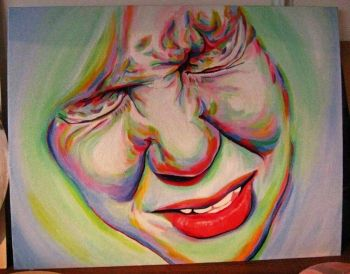 """You can buy """"The Sneeze"""", one of my original oil paintings"""