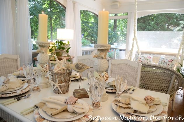 The Enchanted Home: Setting the perfect summer table.