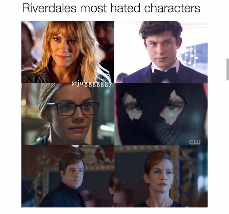 Honestly the Blackhood doesn't bother me because he killed Ms Grundy and he killed Nick so he's not all bad! But stalked Betty and nobody messes with my Betty!