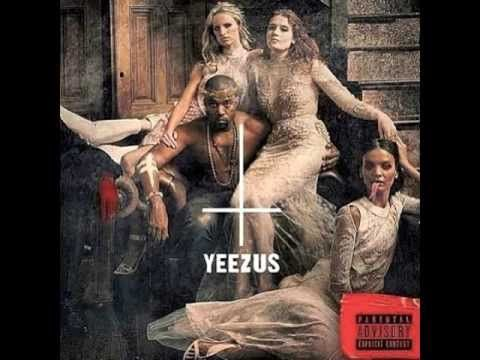kanye west illuminati satanic. Yeezus album cover creepy