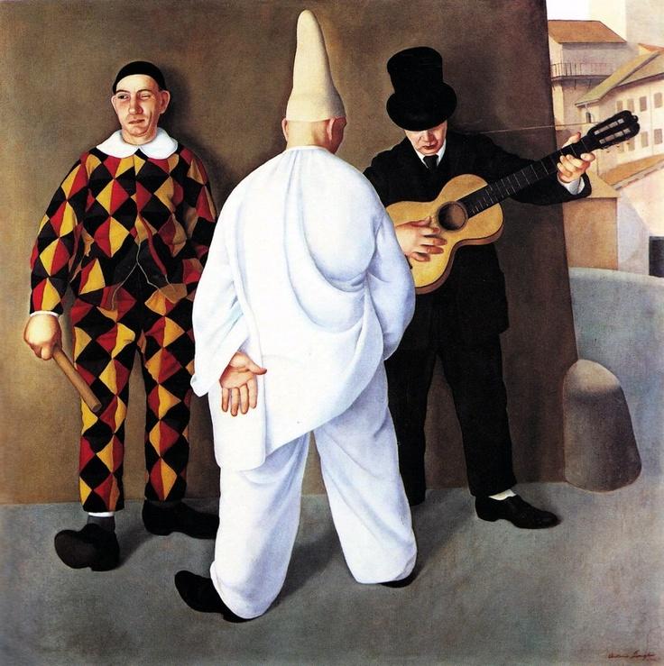 Antonio Donghi Carnevale, 1923