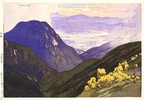 Otenjo by Hiroshi Yoshida, 1926