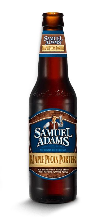 Sam Adams Maple Pecan (American) Porter is 5.6 ABV and 30 IBU.  The appearance is dark crimson brown and the nose nutty maple.  The pecan and maple really come through in the palate but it's all a little too sweet, and the sticky maple lingers too long on the aftertaste.  It's not so extreme as to be gimmicky and left to Sam Adams deft touch it's actually pretty drinkable.   Especially considering I don't much like pecans or maple flavors.