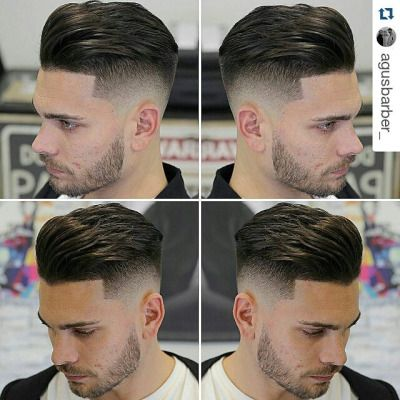 Men's Hair, Haircuts, Fade Haircuts, short, medium, long, buzzed