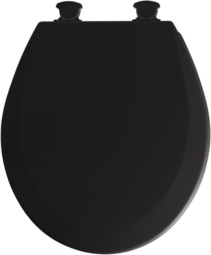 small round toilet seat. LITTLE BIG LIFE  I think black toilet seats make a small bathroom look elegant Best 25 Black ideas on Pinterest home