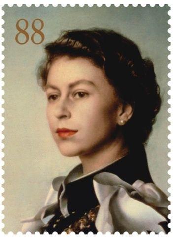 Her Majesty the Queen. Pietro Annigoni, 1956.  #RoyalMail