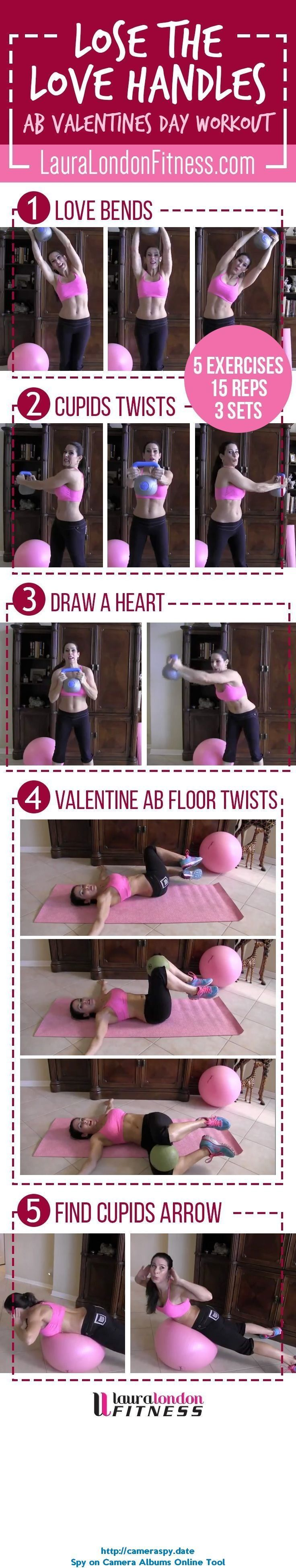 Lose the Love Handles, muffin top what ever you call that extra weight around your middle. Let's crush it with this workout. Share and Re-PIn too. Full video here: www.youtube.com/... #fitness #homeworkouts #lauralondonfitness