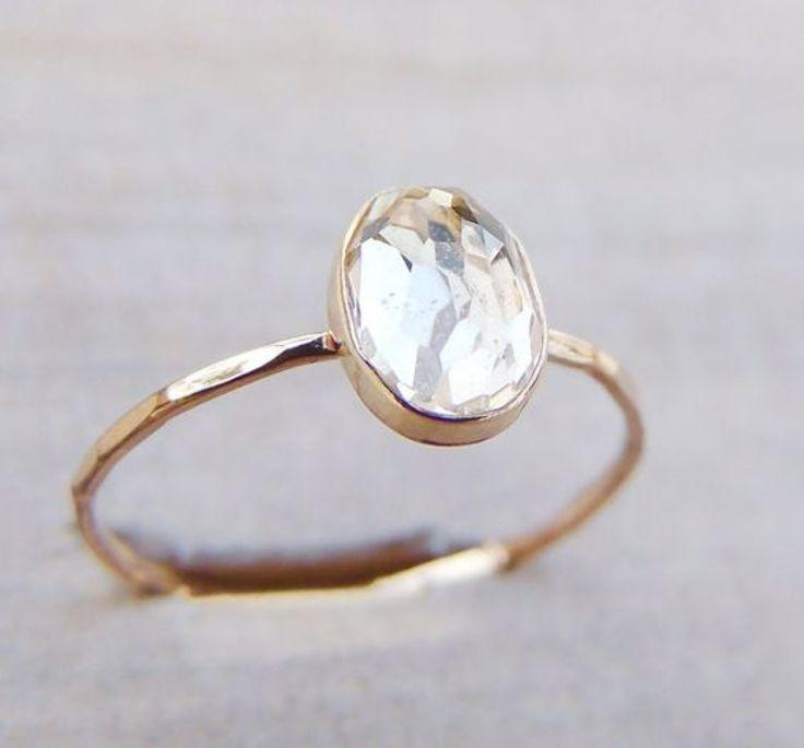 Oval Cut Engagement Rings / Wedding Style Inspiration / LANE