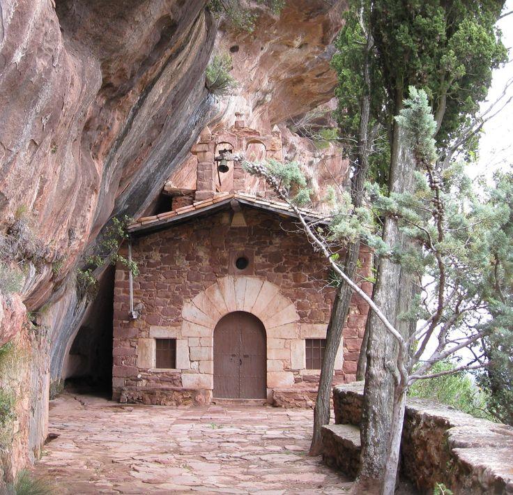 Ermita de l'Abellera de Prades (Catalonia)