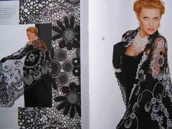 Crochet patterns Fashion Magazine Zhurnal Mod No 549 by sneg78