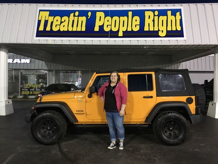 Congratulations Tabitha King on the purchase of your 2012 Jeep Wrangler. We appreciate your business & friendship.
