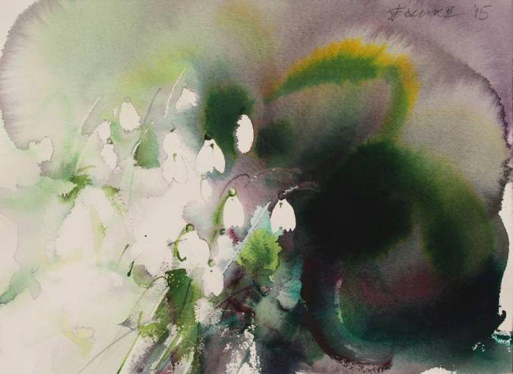 "Saatchi Art Artist Endre Penovác; Painting, ""Herald of Spring"" #art"