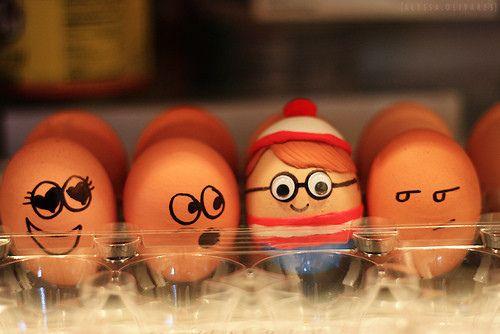 Where is Waldo? Funny Eggs