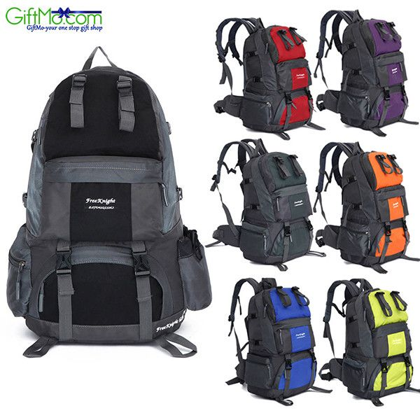 Outdoor Backpack Hiking Waterproof Pack Mountaineering Bag