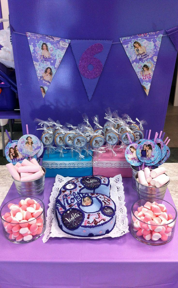 Mesa dulce Violetta