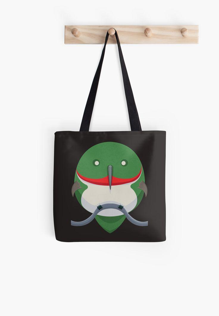 Cartoon Hummingbird Tote Bags by AnMGoug on Redbubble. #tote #bag #hummingbird