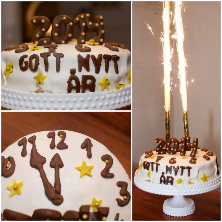 Newyearscake, newyearsevecake, nyårstårta, nyår, newyear, chocolate, choklad, marsipan, sugar paste, sockerpasta, cake decorations, tårtdekorationer, marsipan, midnight, midnatt, tolvslaget,