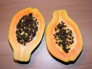 This fruit is popular due to connection with word 'Abortion' . But its famous myth and its not true.This fruit first discovered by Christopher Columbus and he called the fruit as the fruit of the angels.  It contains good amounts of vitamin-C (75%) which boosts immunity system and protects tooth.  It has an enzyme called papain, which has ability to digest hard food items like meat in quick time.