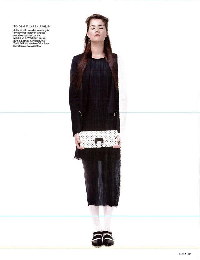 Daphne Sandal, Black. ANNA 2014