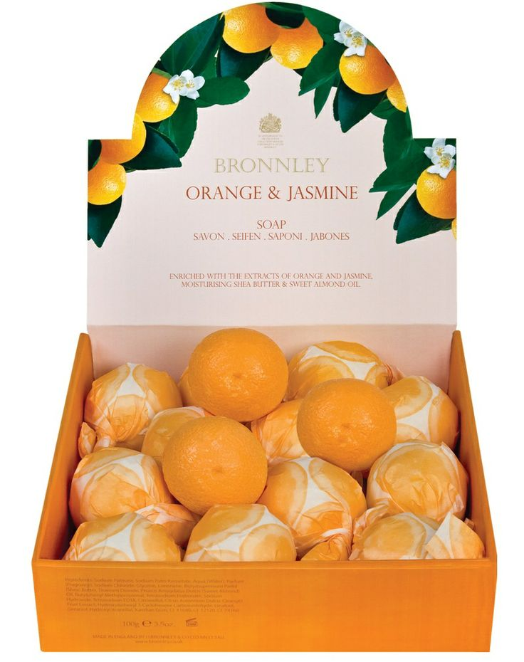 Bronnley Orange And Jasmine Individual Soap  http://www.austins-uk.com/bronnley-orange-and-jasmine-individual-soap/p287