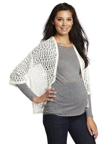 Velvet Women's Maternity Mayim Cardigan Sweater « Clothing Impulse