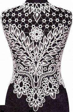 romanian lace patterns free - Google Search