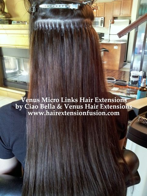 Venus Micro Links Hair Extensions is the Best Hair ...
