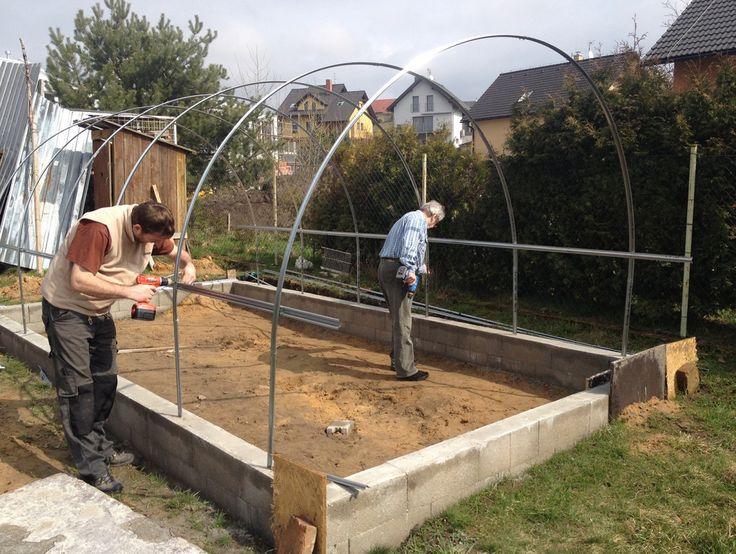 Zahradní skleník Volya LLC 2DUM - GUTTA
