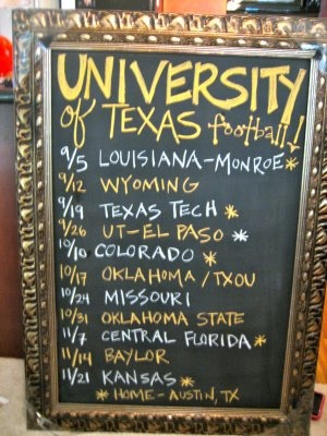 Obviously would have Gator schedule :)