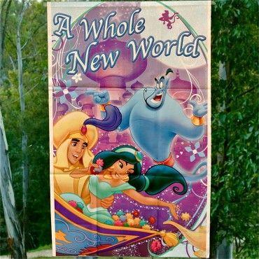 Banners Princesa Jazmín de la película Aladdin - Artículos de Fiesta