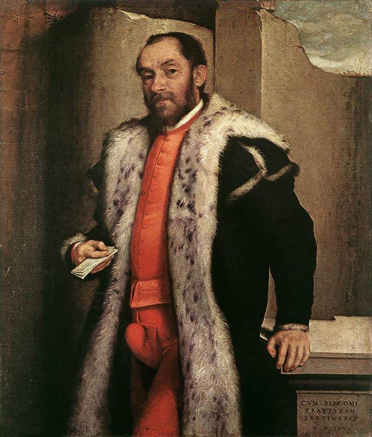 Portrait of Antonio Navagero, 1565 by Giovanni Battista Moroni (c.1525-1578)