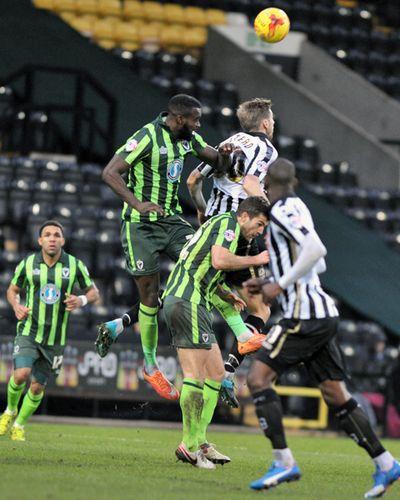 Notts County vs AFC Wimbledon Copyright B&O Press Photo