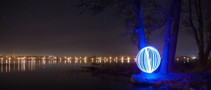 Kule światłem malowane