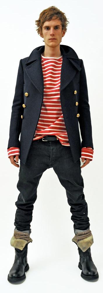 Pirate style by Balmain