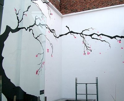 Pretty and simple west wall mural ideas pinterest for Easy wall mural