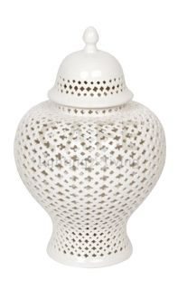 Minx Temple Jar - Medium White $110 but need to order through me as I'm registered wholesaler, otherwise $199 at temple & Webster
