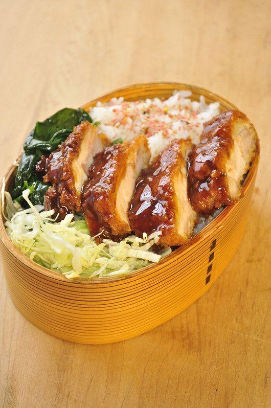 Chicken Cutlet Bento チキンカツ弁当