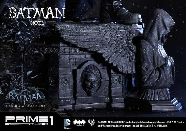 株式会社プライム1スタジオ / バットマン:アーカム・ビギンズ バットマン・ノエル ポリストーン スタチュー 1/3スケール EX版
