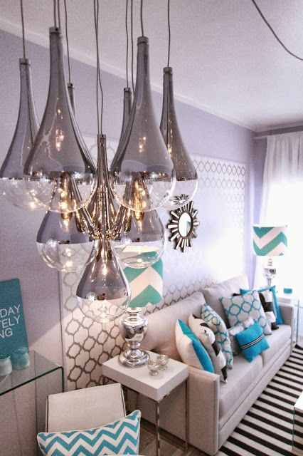 candeeiros - Home-Styling: Querido Mudei a Casa TV Show #22.08 - Before & After