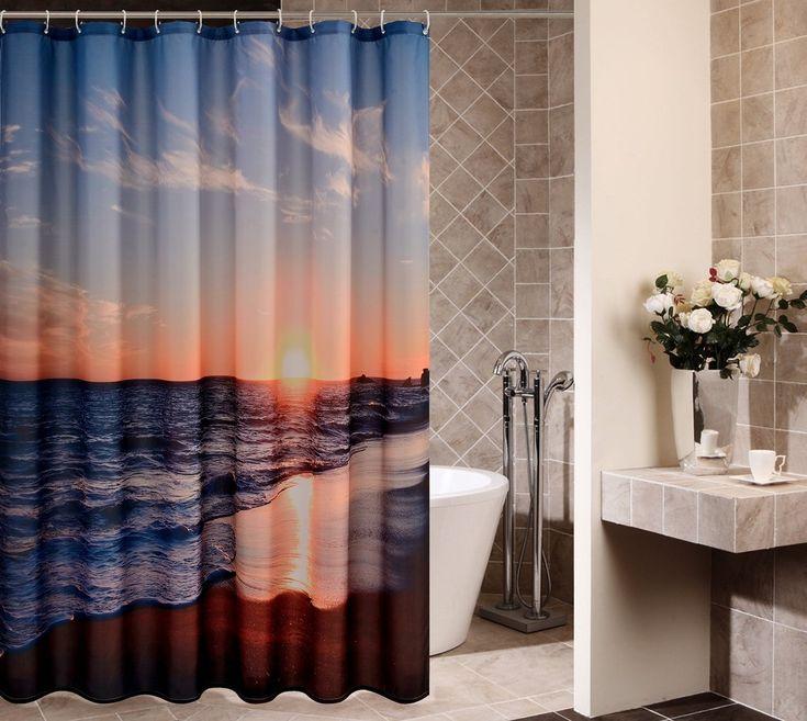 Best 25 Beach Themed Bathrooms Ideas On Pinterest: Best 25+ Beach Shower Curtains Ideas On Pinterest