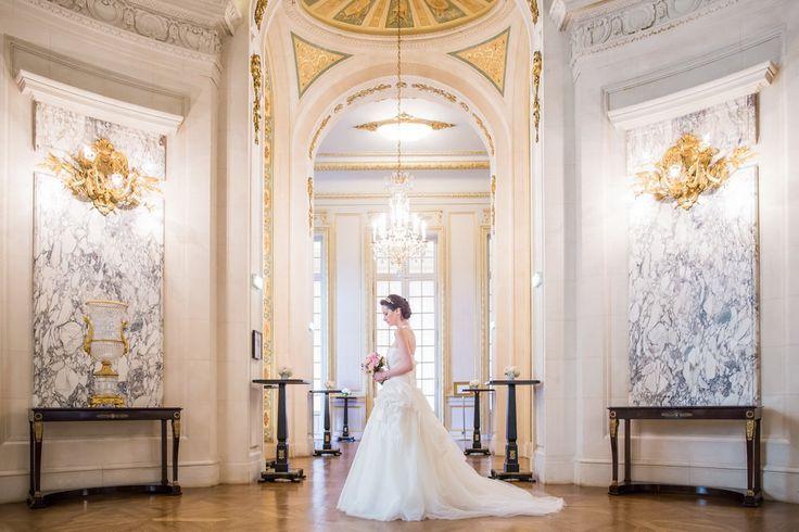 Bride at the Shangrila Hotel Paris