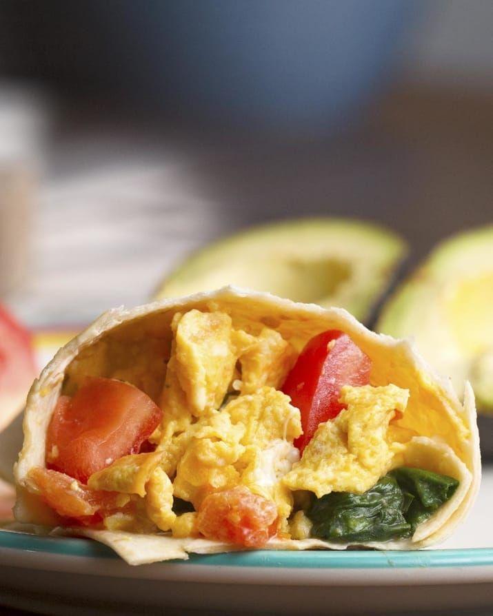 vegan Freezer-Prep Breakfast Burritos