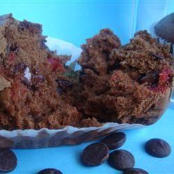 Double Chocolate Cherry Muffins Recipe - Allrecipes.com