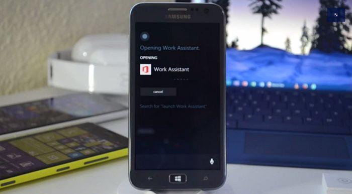 Vídeo de la app Work Assistant, asistente personal en desarrollo para Microsoft Office